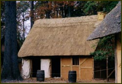 Jamestown Thatched Roof..